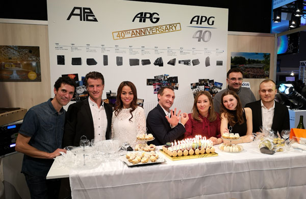 APG has highlighted its 40 years of history during French trade show JTSE!