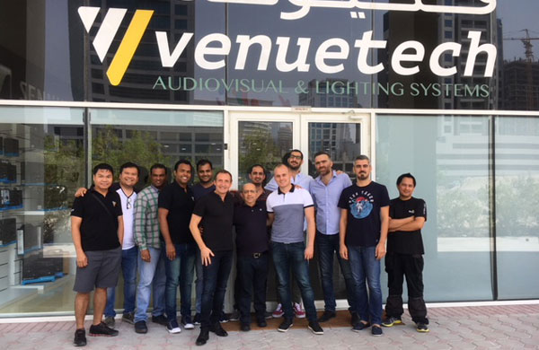 Venuetech to Distribute APG in the Middle East