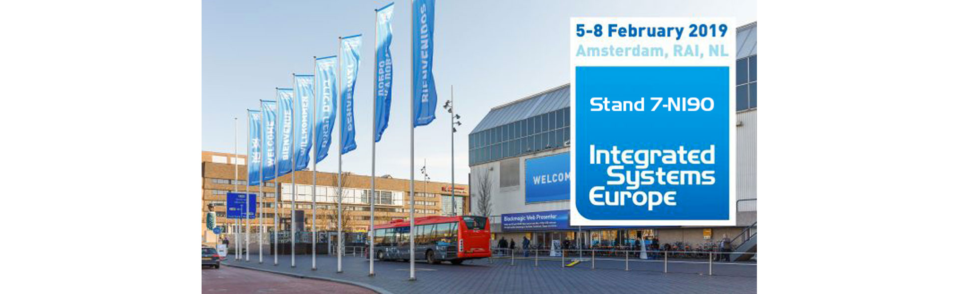 First exhibition for APG at ISE – Amsterdam