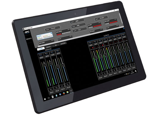 apg live manager tablet
