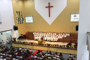 First Uniline Church Installation in China